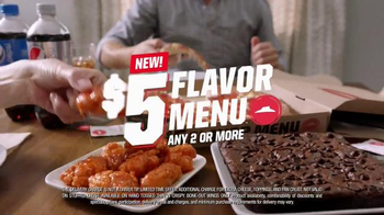 Pizza Hut $5 Flavor Menu TV Spot, 'Something for Everyone' Feat. Mark Cuban - Thumbnail 9