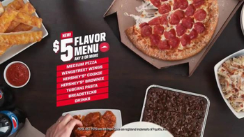 Pizza Hut $5 Flavor Menu TV Spot, 'Something for Everyone' Feat. Mark Cuban - Thumbnail 2