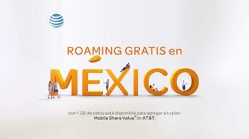 AT&T TV Spot, 'Roaming gratis' [Spanish] - Thumbnail 2