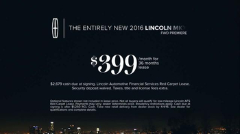 2016 Lincoln MKX TV Spot, 'All Yours' Featuring Matthew McConaughey - Thumbnail 7