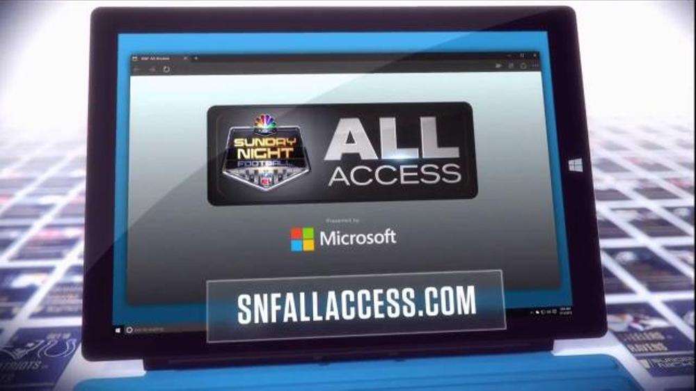 NBC Sports Network TV Commercial, 'Sunday Night Football Social Experience'