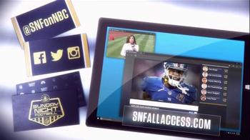 NBC Sports Network TV Spot, 'Sunday Night Football Social Experience' - Thumbnail 10
