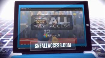 NBC Sports Network TV Spot, 'Sunday Night Football Social Experience' - Thumbnail 4