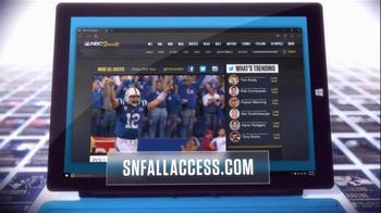 NBC Sports Network TV Spot, 'Sunday Night Football Social Experience' - Thumbnail 5