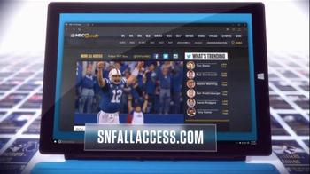 NBC Sports Network TV Spot, 'Sunday Night Football Social Experience' - Thumbnail 6