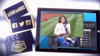 NBC Sports Network TV Spot, 'Sunday Night Football Social Experience' - Thumbnail 7