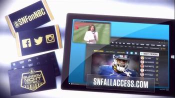 NBC Sports Network TV Spot, 'Sunday Night Football Social Experience' - Thumbnail 8