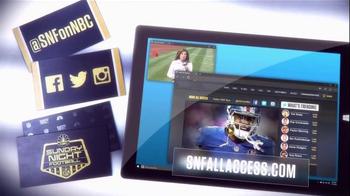 NBC Sports Network TV Spot, 'Sunday Night Football Social Experience' - Thumbnail 9