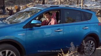 2016 Toyota RAV4 Hybrid TV Spot, 'Lumberjacks Challenge' Ft. James Marsden - Thumbnail 5