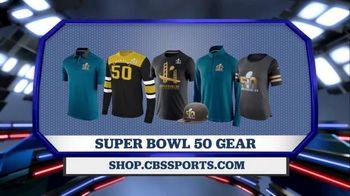 CBS Sports Shop TV Spot, 'Super Bowl 50 Gear'