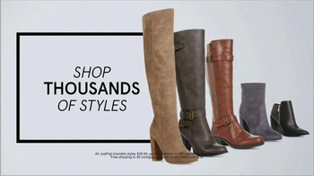 JustFab.com TV Spot, 'Not Sorry: Boots and Booties' - Thumbnail 7
