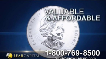 Lear Capital TV Spot, 'The 2016 Silver Snow Falcon Coin has Arrived!'
