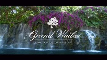 Grand Wailea TV Spot, 'Destination Getaway' - Thumbnail 3
