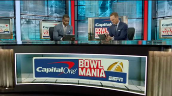 Capital One TV Spot, 'Bowl Mania: ESPN - Competition' Feat. Danny Kanell - Thumbnail 1