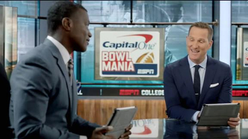Capital One TV Spot, 'Bowl Mania: ESPN - Competition' Feat. Danny Kanell - Thumbnail 3
