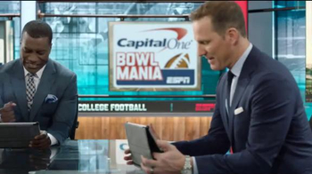 Capital One TV Spot, 'Bowl Mania: ESPN - Competition' Feat. Danny Kanell - Thumbnail 9