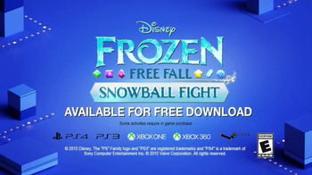 Frozen Free Fall: Snowball Fight TV Spot, 'Disney Channel: Game On' - Thumbnail 10