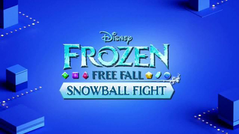 Frozen Free Fall: Snowball Fight TV Spot, 'Disney Channel: Game On' - Thumbnail 2