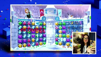 Frozen Free Fall: Snowball Fight TV Spot, 'Disney Channel: Game On' - Thumbnail 5