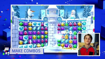 Frozen Free Fall: Snowball Fight TV Spot, 'Disney Channel: Game On' - Thumbnail 6