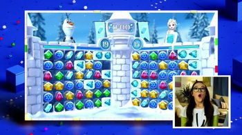 Frozen Free Fall: Snowball Fight TV Spot, 'Disney Channel: Game On' - Thumbnail 8