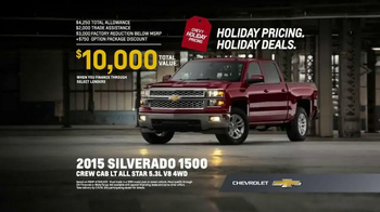 Chevrolet Holiday Bonus Tag TV Spot, 'Best in Class: Motor Trend Award' - Thumbnail 7