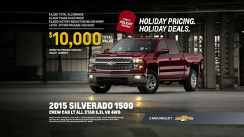 Chevrolet Holiday Bonus Tag TV Spot, 'Best in Class: Motor Trend Award' - Thumbnail 8