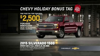 Chevrolet Holiday Bonus Tag TV Spot, 'Best in Class: Motor Trend Award' - Thumbnail 9