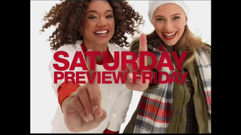 Macy's One Day Sale TV Spot, 'Sweaters, Boots and Coffee Machines' - Thumbnail 1