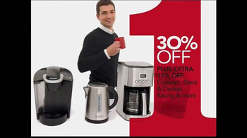 Macy's One Day Sale TV Spot, 'Sweaters, Boots and Coffee Machines' - Thumbnail 7