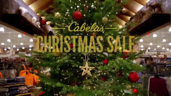 Cabela's Christmas Sale TV Spot, 'Camo, Smokers, Binoculars'