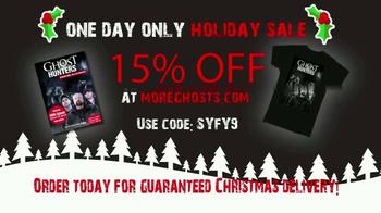 MoreGhosts.com Holiday Sale TV Spot, 'Ghost Hunters Merch'