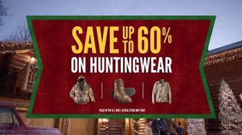 Cabela's Christmas Sale TV Spot, 'Huntingwear' - Thumbnail 8