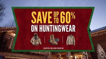 Cabela's Christmas Sale TV Spot, 'Huntingwear' - Thumbnail 9