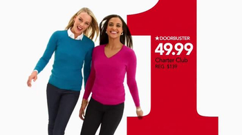 Macy's One Day Sale TV Spot, 'Sweaters, Coats and Earrings' - Thumbnail 3