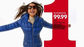 Macy's One Day Sale TV Spot, 'Sweaters, Coats and Earrings' - Thumbnail 5