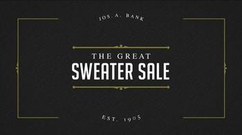 JoS. A. Bank Great Sweater Sale TV Spot, 'Pima Cotton Sweaters' - Thumbnail 1