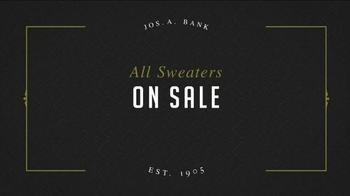 JoS. A. Bank Great Sweater Sale TV Spot, 'Pima Cotton Sweaters' - Thumbnail 2