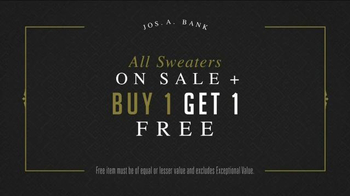 JoS. A. Bank Great Sweater Sale TV Spot, 'Pima Cotton Sweaters' - Thumbnail 3