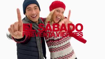 Macy's La Venta de Un Día TV Spot, 'Suéteres y abrigos' [Spanish] - Thumbnail 2