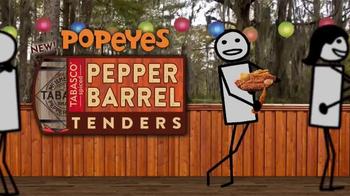 Popeyes Pepper Barrel Tenders TV Spot, 'Adult Swim: Dance' - Thumbnail 9