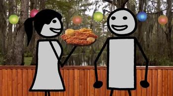 Popeyes Pepper Barrel Tenders TV Spot, 'Adult Swim: Dance' - Thumbnail 6