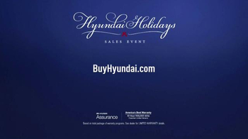 Hyundai Holidays Sales Event TV Spot, 'Happiest Holidays: Sonata' - Thumbnail 7