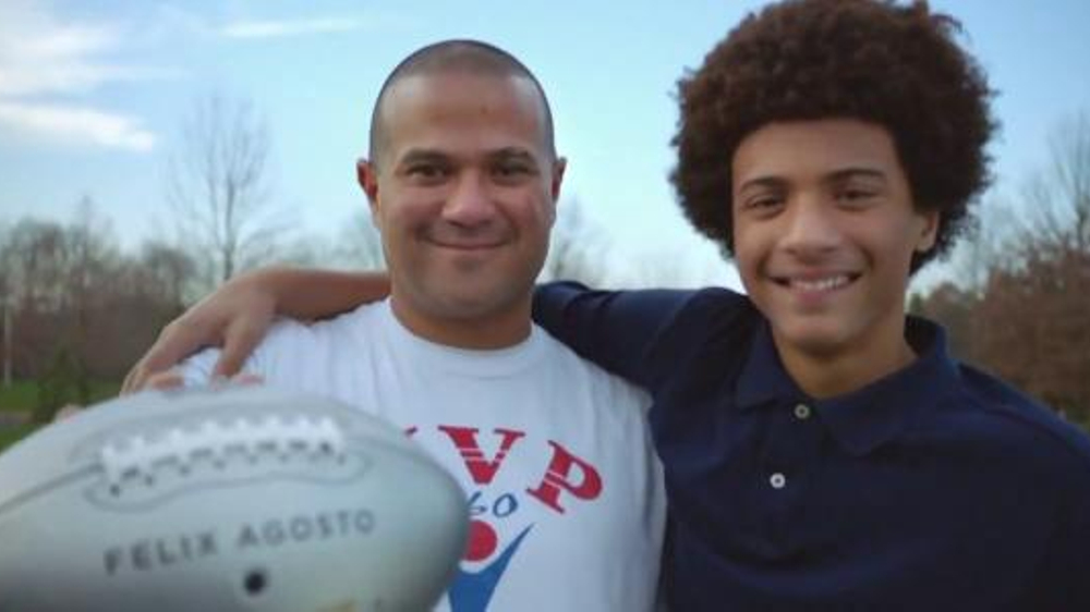 NFL Together We Make Football TV Commercial, 'Flag Football' Feat. Anthony Mu??oz