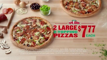 Papa John's TV Spot, 'Everything You Love About Football' - Thumbnail 6