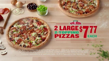 Papa John's TV Spot, 'Everything You Love About Football' - Thumbnail 7