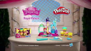 Play-Doh Disney Princess Royal Palace TV Spot, 'Sparkle' - Thumbnail 7