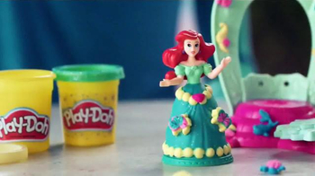 Play-Doh Disney Princess Royal Palace TV Spot, 'Sparkle' - 317 commercial airings