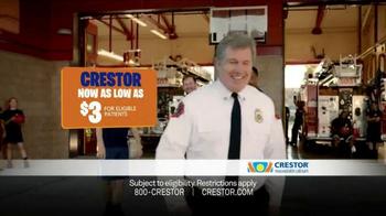 Crestor TV Spot, 'Firefighter' Song by War - Thumbnail 10