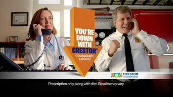 Crestor TV Spot, 'Firefighter' Song by War